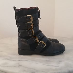 Marc by Marc Jacobs black flat boots